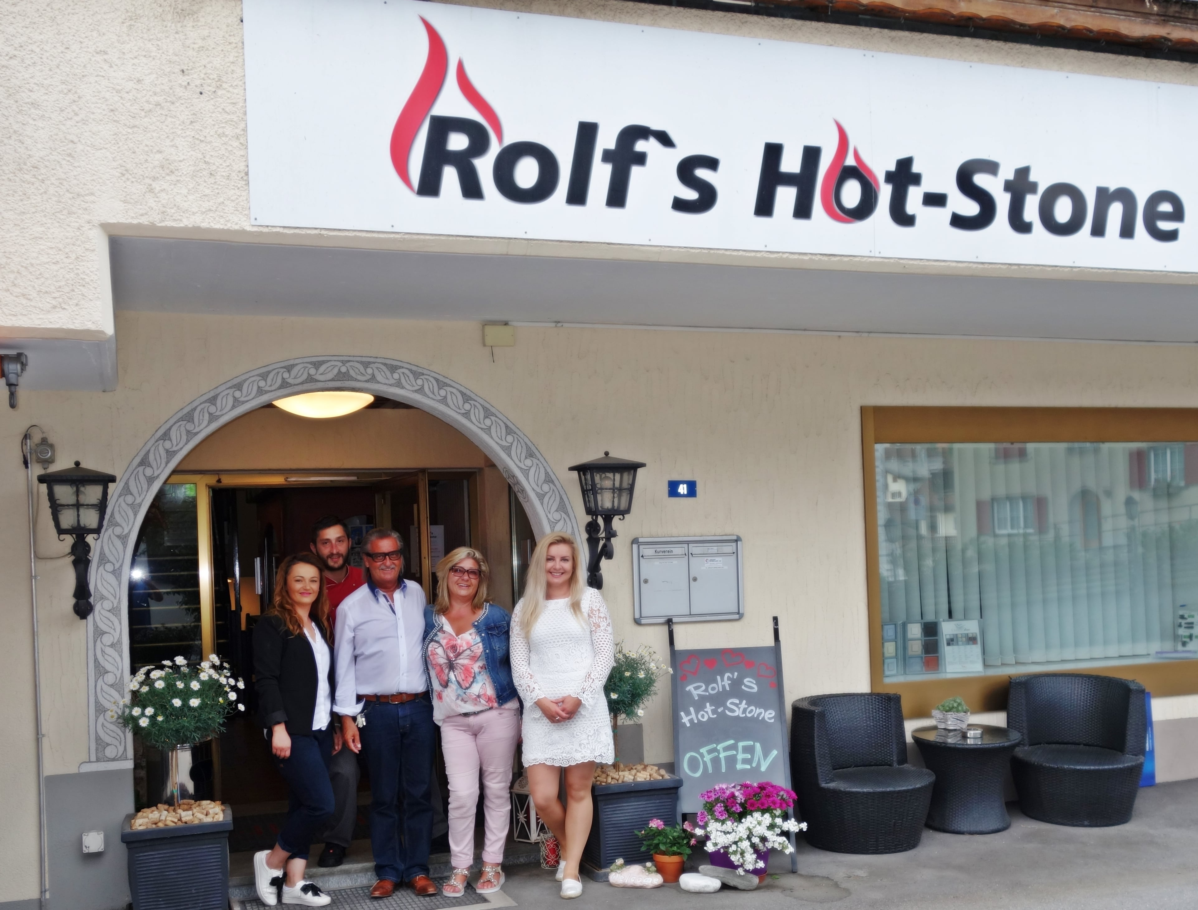 Restaurant Hot-Stone Klosters Team